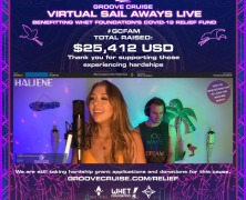 Whet Foundation streaming session raises thousands for Covid-19 relief fund