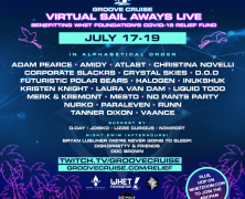 Groove Cruise welcomes 30+ DJ's and artists for next Virtual Sail Aways livestream (17-19th July)
